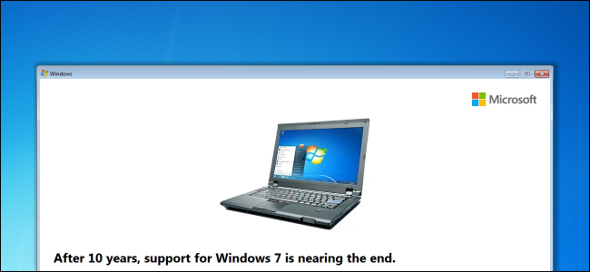 Windows 7 End of Life upgrade to Windows 10