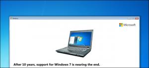 Windows 7 End of Life upgrade to Windows 10